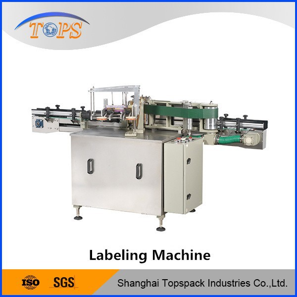 Automatic Plastic Bottle/Can/Jar/Vials Labeling Machine