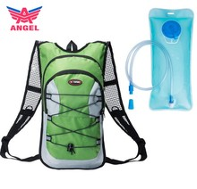 Custom wholesale 12L hydration back pack running cyling backpack with free 2L water bag