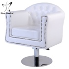New Barber Chair White Styling Hair Beauty Salon Spa Equipment