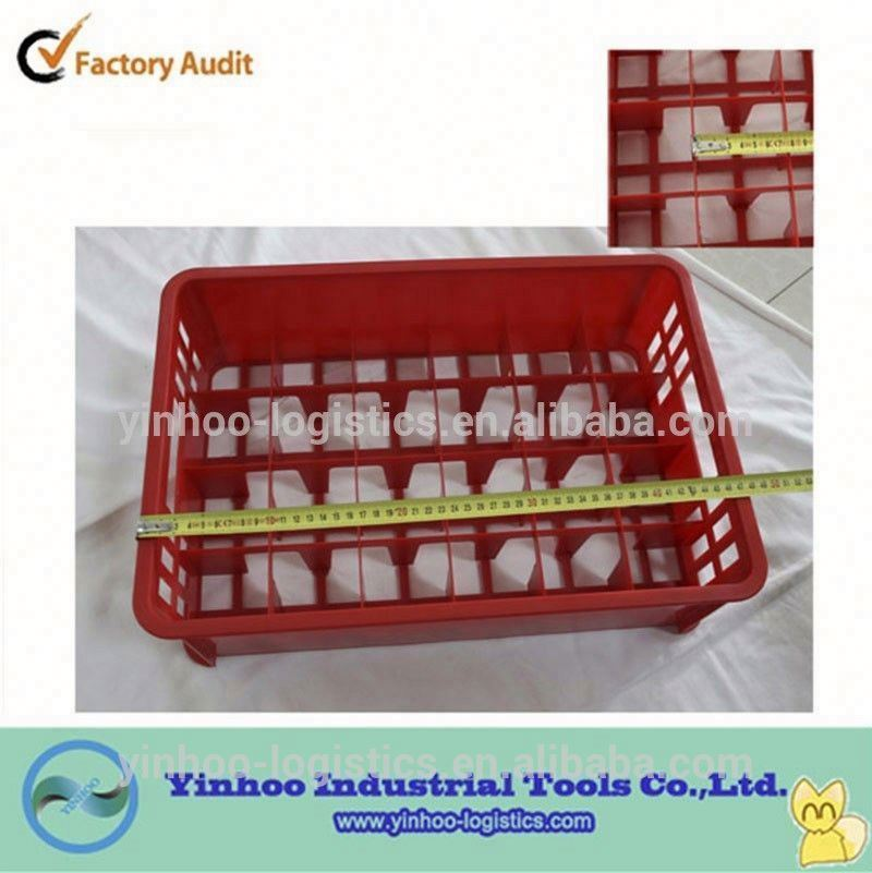 professional production and direct sale space saving plastic crate for bottle