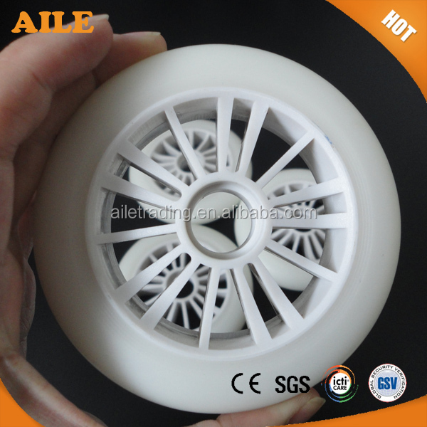 High Quality High Rebound PU Roller Hockey Skate Wheels