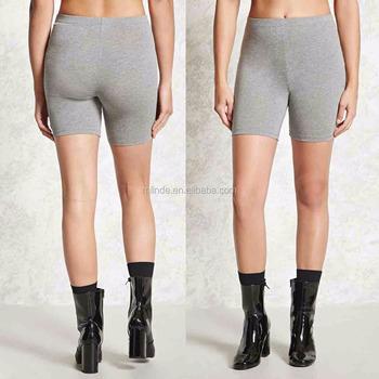 280fc97ce Pakaian Sportwear untuk Wanita Aktif Grosir Kustom 95% Katun 5% Spandex  Celana Pendek Sepeda