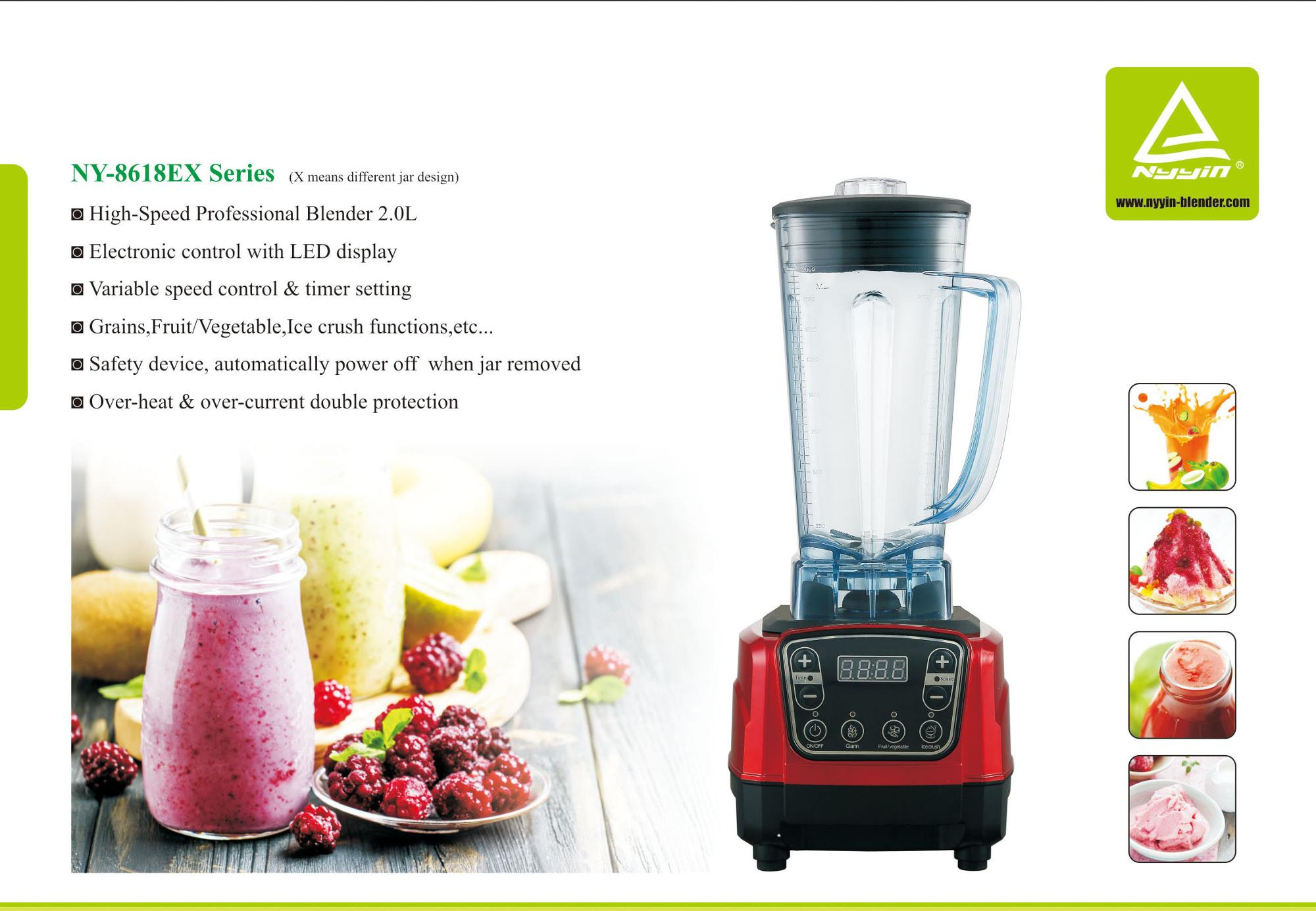 500 W Heavy Duty Multi Food Blender électrique SMOOTHIE MAKER Broyeur cuivre