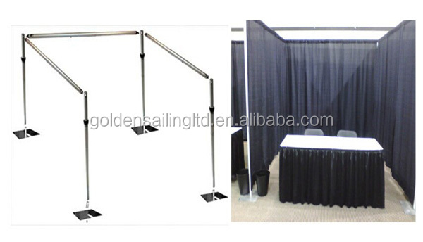 wholesale pipe and drape black curtain stage backdrop buy