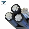 LV LT acsr conductor aluminium twisted cable
