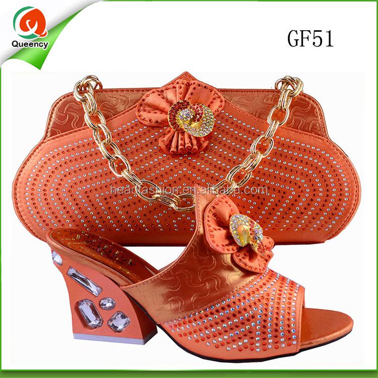 and african clutch bag matching shoe set shoes bag crystal evening XrwvEwTqc