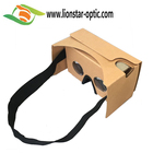 DIY Google Cardboard 2.0 VR 3d glass Virtual Reality 3D Glasses with head strap google cardboard 3d