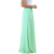 2019 New Arrival wholesale Customized High Waist Ladies Pleated Green Skirt