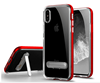 Clear TPU Kickstand Case Slim thin Cover With Stand For iPhone 8