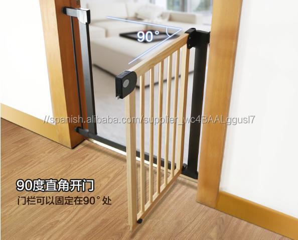 Productos de seguridad del beb puerta puerta puerta de seguridad para ni os del juego del beb - Seguro para puertas bebe ...