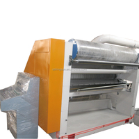 Electric heating corrugated paperboard single facer machine corrugating