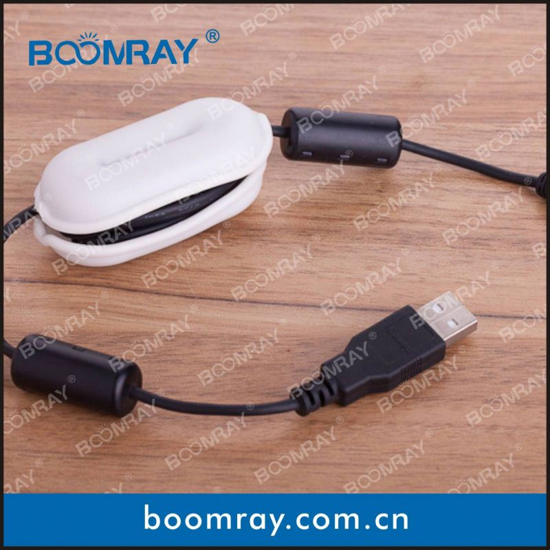 Boomray smart and convenience cable clip sreada p seri ip50 2pin connector with nylon cable