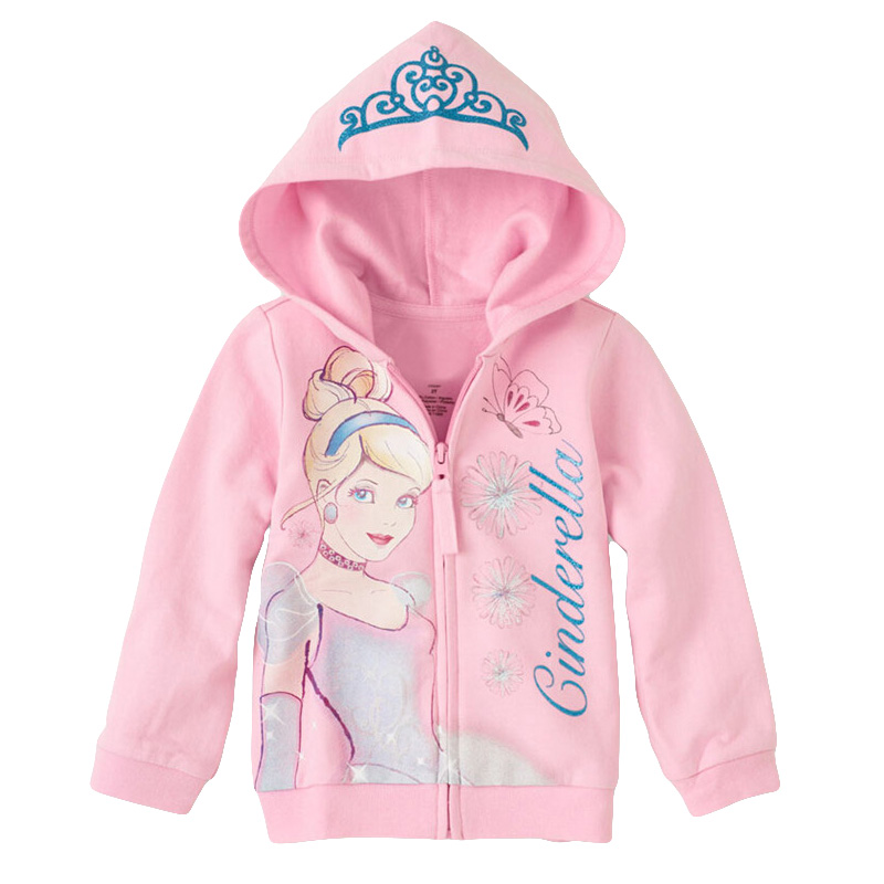 Girls jacket Children s Coat Cute Girls Coat hoodies girls Cotton Jacket children clothing