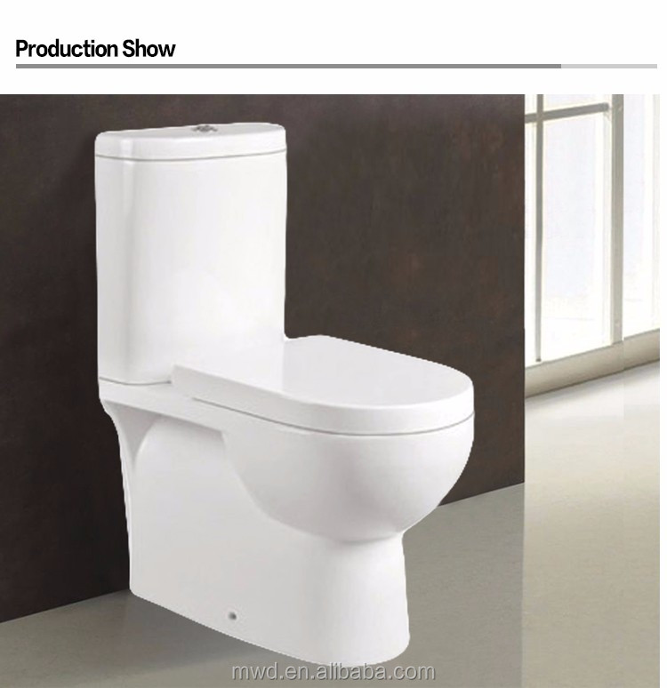 European Standard Sanitary Ware Flush Valve Two Piece