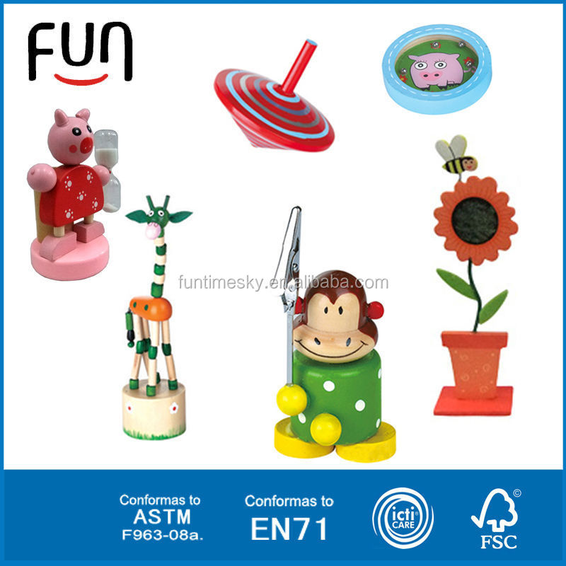 New product wooden craft kid toy promotion gift most popular wooden toy AT11480