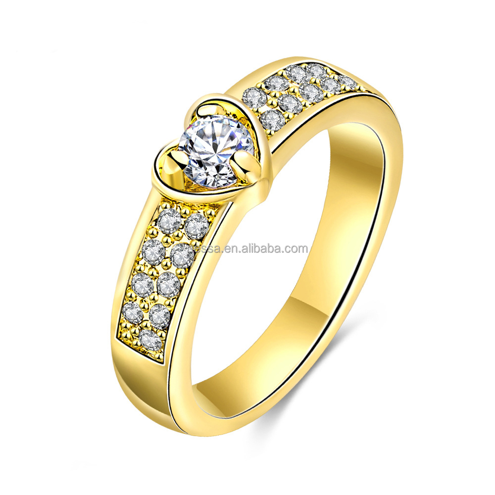 Fashion Ladies Finger Gold Ring Design Wholesale Nskn-0071 - Buy ...