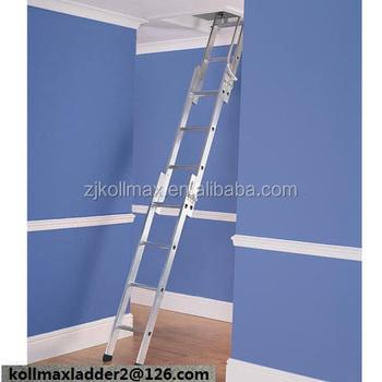 Aluminium Sliding Loft Ladder 3 Sections Attic Extending