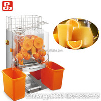 automatic industrial orange juice making extractor machine