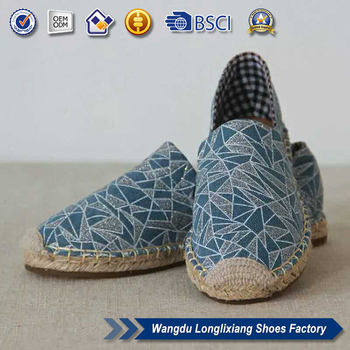 84d3b49ea Wholesale Flat Shoes Jute Sole Espadrilles Imported From China - Buy ...