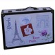 Paris design Antique wooden durable suitcase 2 piece set