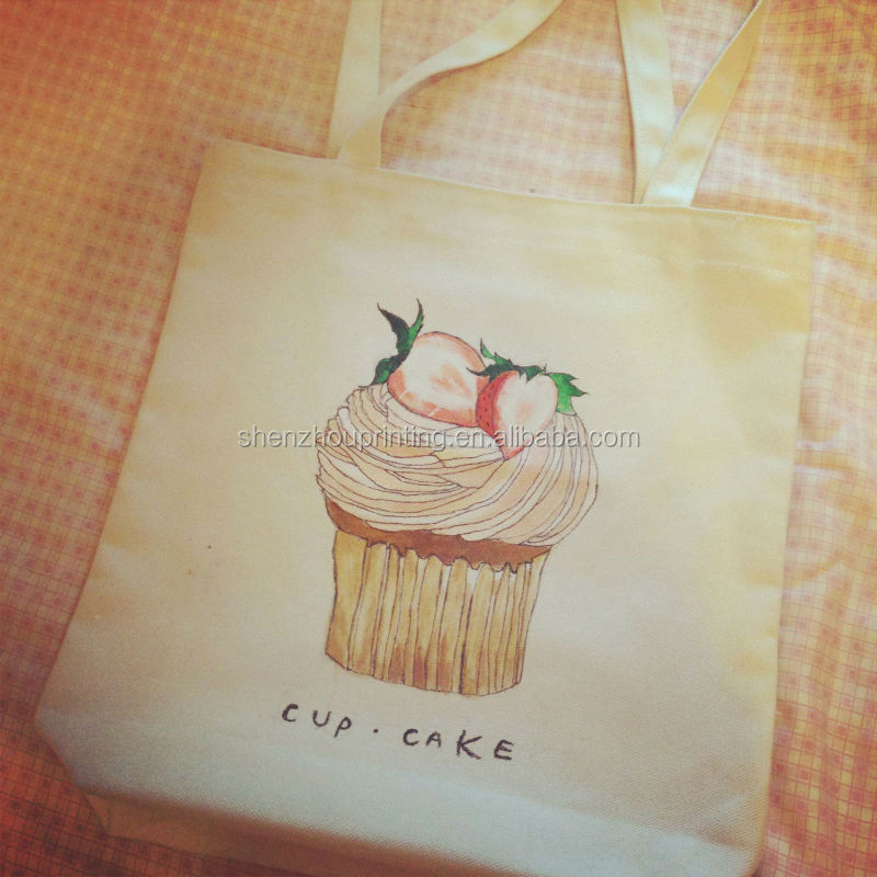 HOT! New Arrival brushed cotton tote bag