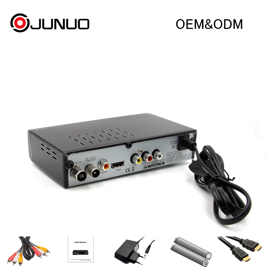Cheap multi channel tv tuner dvb-t2 receiver for Mexico