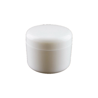 Matte White PP 50ml 100ml 250ml 500ml Cream Hair Mask Plastic Cosmetic Empty PP Jar with Lid