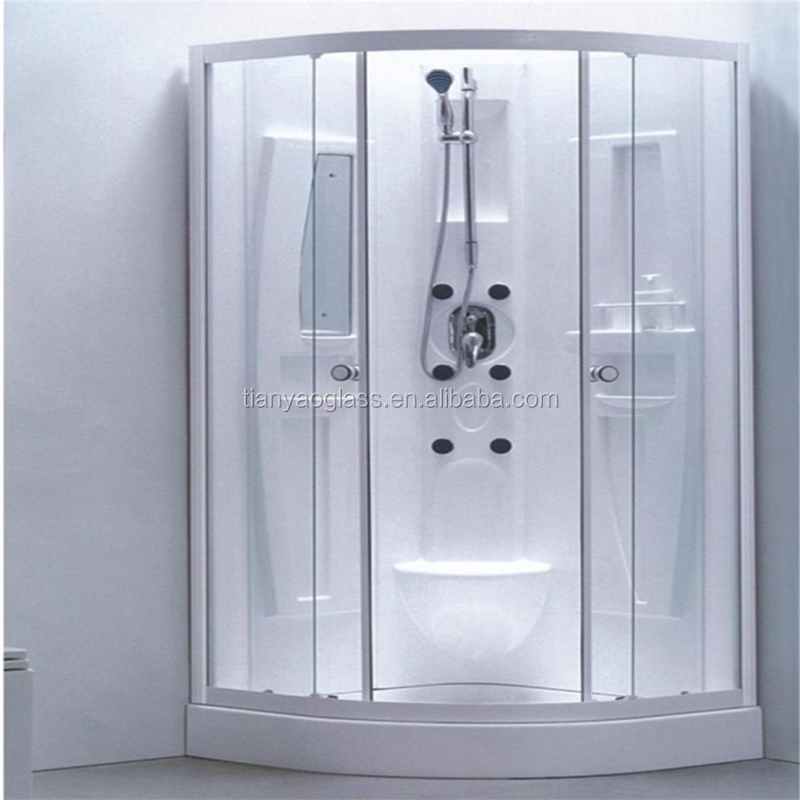 China Glass Shower Enclosures Acid Etched Glass Frosted Glass - Bathroom partition glass