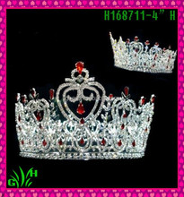 New designs rhinestone ornament wholesale pageant crowns and tiaras