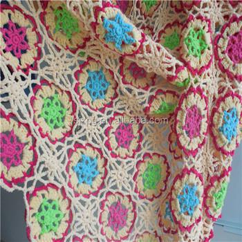 Fabrik Versorgung Handmade Granny Platz Häkeln Decke Muster - Buy ...