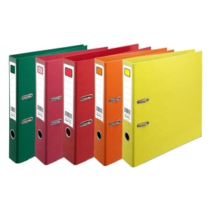 2019 hot selling Double Side PP Material and A4 Lever Arch File Type office stationery file folder
