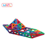 MNTL Popular Sales 78Pcs Magnetic Blocks Toys Educational Building Tiles Blocks Toys Set DIY 3D Magnet Children Toys