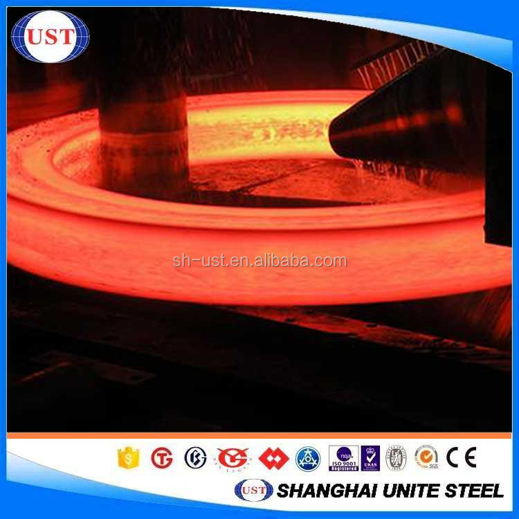 Machinery Axle Forged Steel Rings 34 Crnimo6 High Strength Material