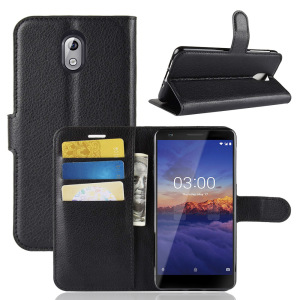 Business compatible brand phone wallet case For Nokia 3.1 Leather Flip