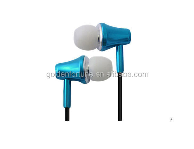 promotional in ear metal earphone earbuds