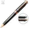 Top Popular Custom Cheap office stationery rose gold ball point pen