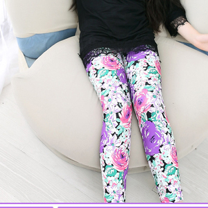 wholesale baby pants custom sublimation printed baby girl super soft leggings