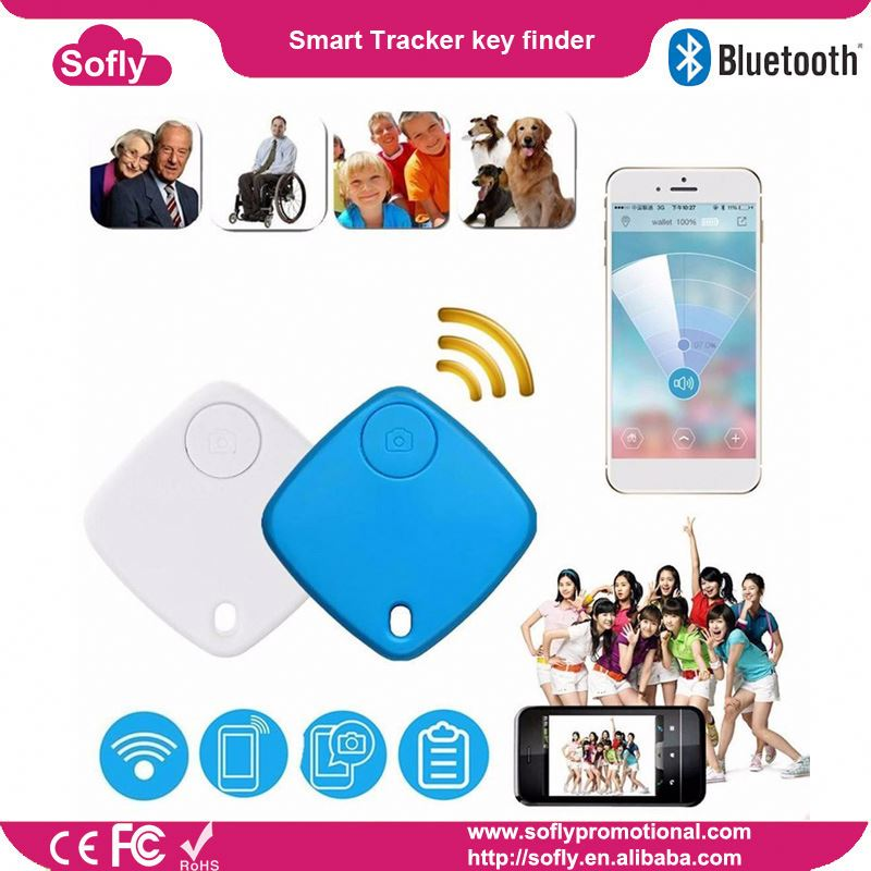 Customized Anti-Lost Tracking Long Distance Bluetooth Key Finder from AXAET