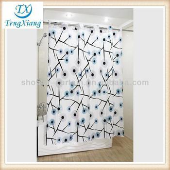 Single Swag Luxury Fabric Double Shower Curtain Rod Buy Luxury Fabric Shower Curtains Double