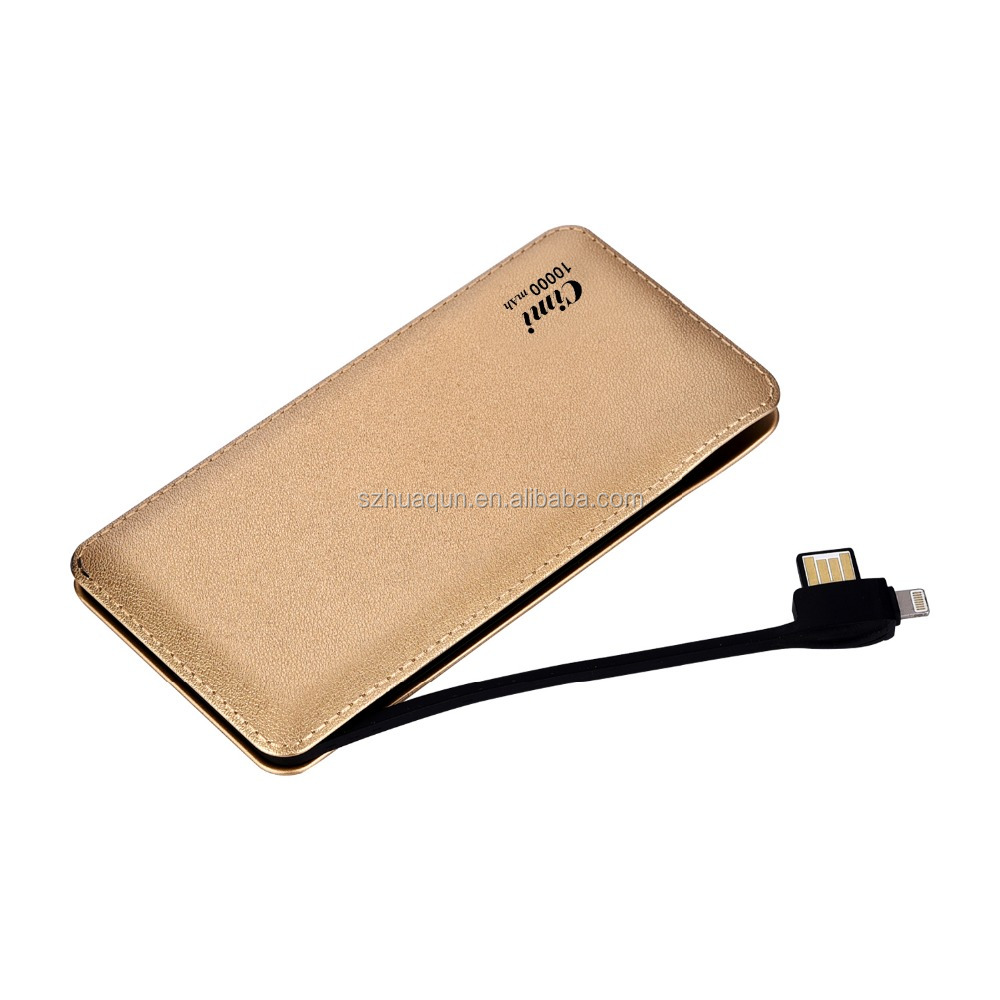 Best seller 2017 high capacity power bank 10000mah for smartphone