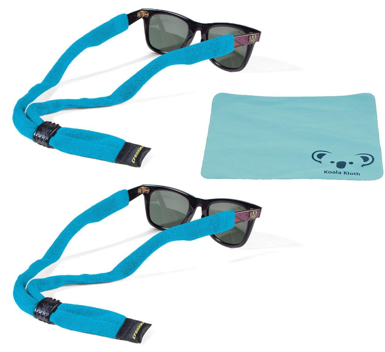 27cad4977ca Get Quotations · Croakies Cotton Suiters Eyewear Retainer Sunglass   Eyeglass  Strap
