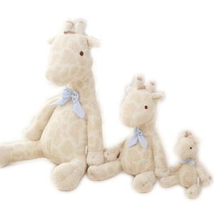 Hot Sale bed playing plush toy safari animal Cute Soft Stuffed Giraffe Toy
