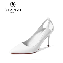 D112 quick delivery white ladies wedding dress shoes womens bridal heel sale