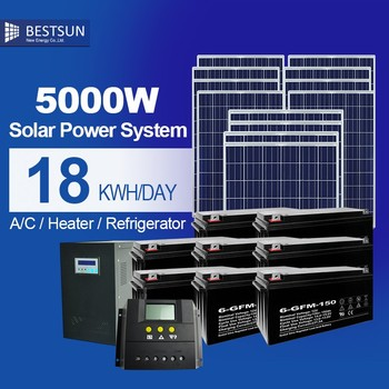 BESTSUN biggest store for using green and clean energy the solar product store for solar power generator BPS-5000W