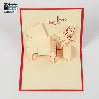 Cheap Price Handmade 3d Diy Happy Birthday Greeting Cards