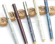 Top Quality Customized Promotional Metal Pen with Heat Transfer Print