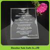 custom romantic unique laser shaped acrylic invitation clear acrylic plexiglass wedding invitation card top grade invitation MOQ