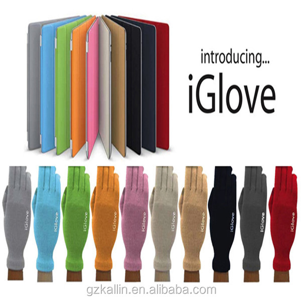 2015 new design hot selling gloves for touch screen iglove