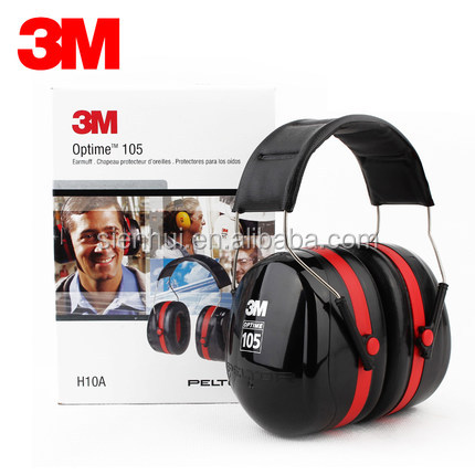 30dB NRR H10A Over-the-Head 3M Peltor Hearing Protection Earmuffs
