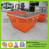 2m customized metal skip bins metal garbage containers for sales